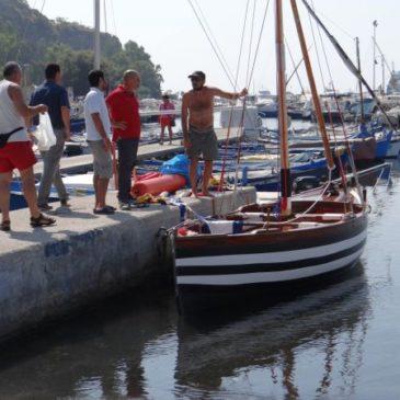 Navigazione a vela latina lungo costa da Monte di Procida a Gaeta