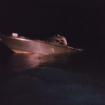 Gaeta: affonda barca di 16 metri, tratti in salvo 2 diportisti