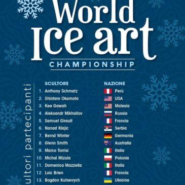World Ice Art Championship 2020 a Gaeta dal 10 al 12 Gennaio