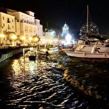 Porto Antico di Gaeta: ancora mareggiate e danni alla banchina