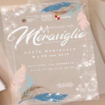 """Gaeta protagonista del """"Matrimonio nelle meraviglie #Sposami nel Lazio!"""""""