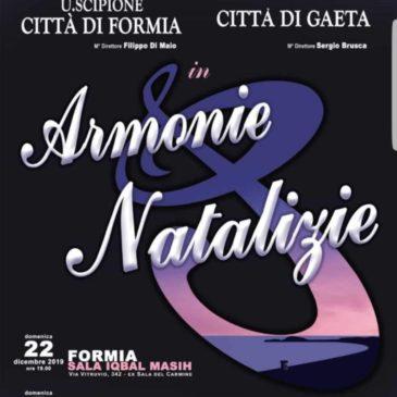 La Banda Musicale di Gaeta e Formia insieme per un unico Concerto